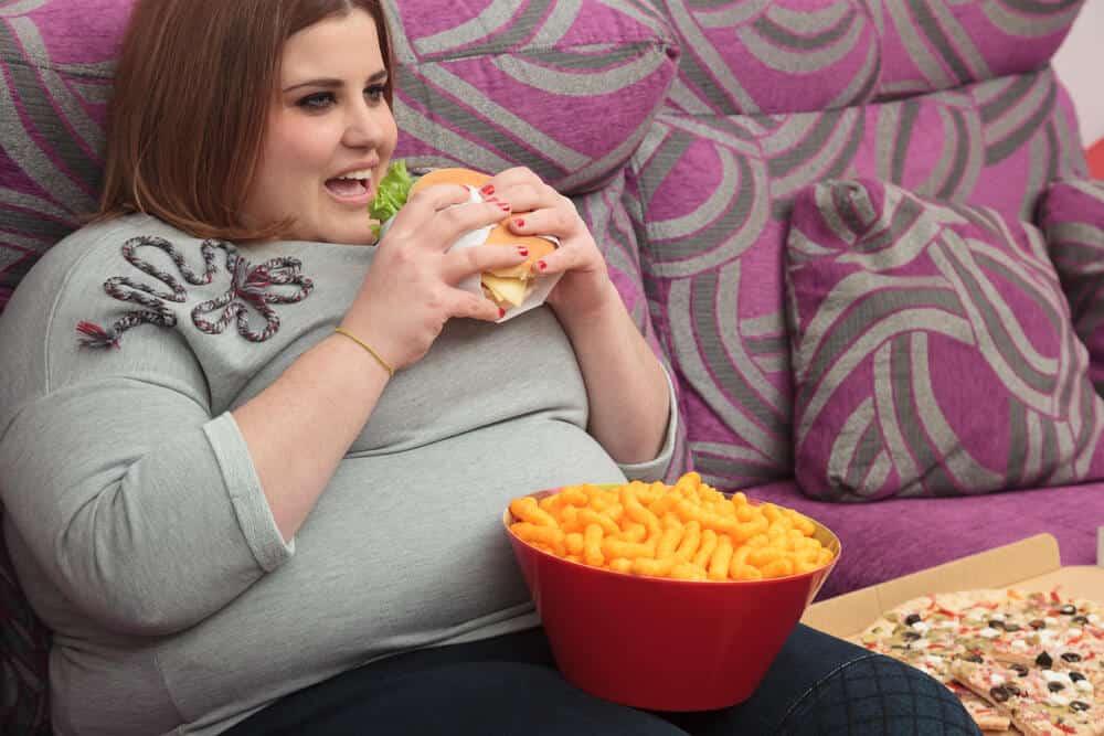 الأكل-لمريض-السمنة